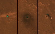 [InSight] Les 1eres images satellite de l'atterrissage