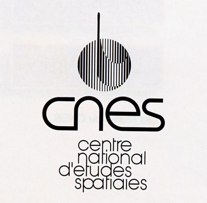 Logo du CNES 1984 - 1992